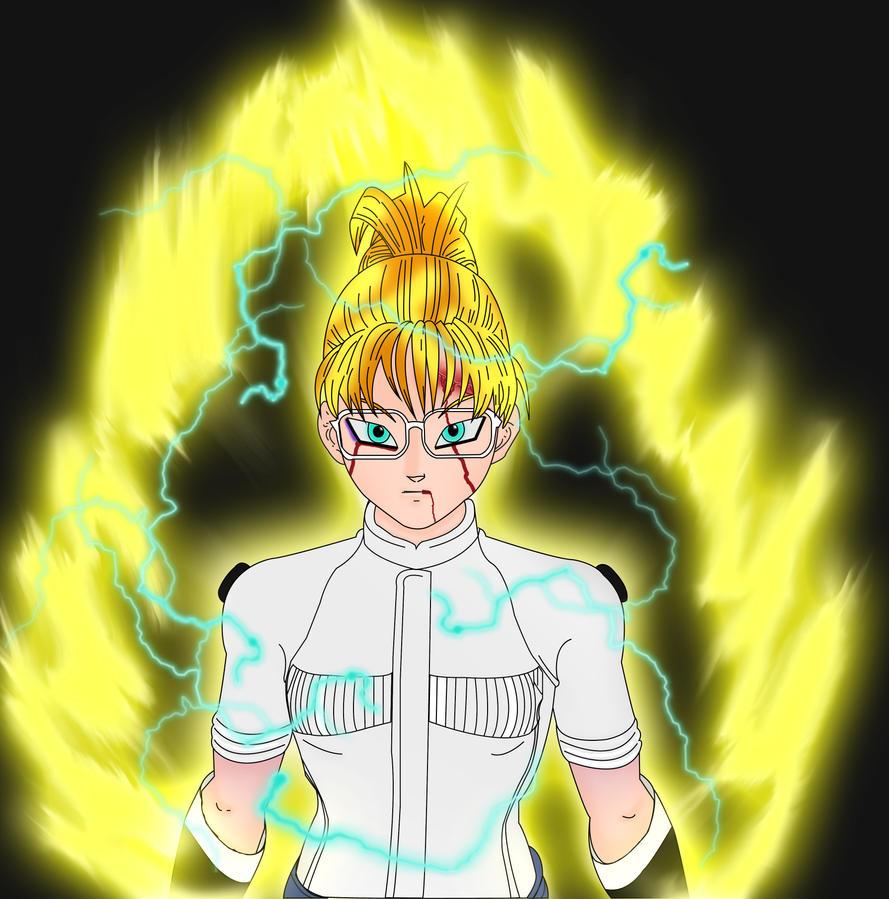 My character in Dragon Ball Xenoverse - Amanda 22 by Makeiks