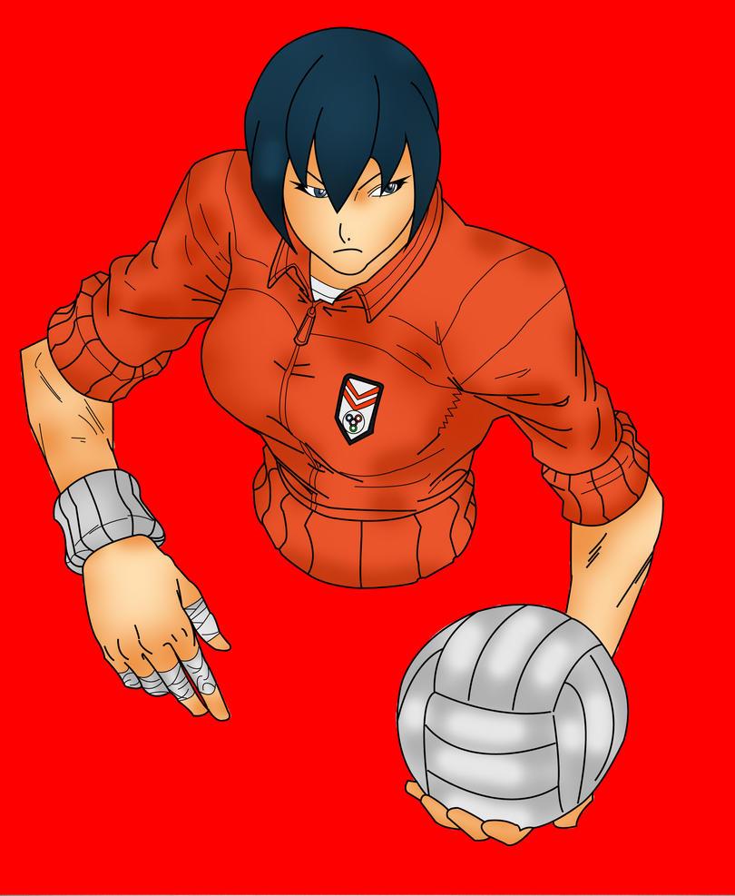 Natsu - Rival Schools by Makeiks