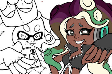Splatoon Color: Entry for Tsaoshin Point Contest