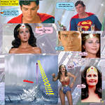 SUPERMAN AND WONDER WOMAN - YES