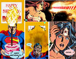 SUPERMAN AND WONDER WOMAN-Wonder Woman's birthday