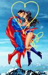 Superman and Wonder Woman by Tony Daniel