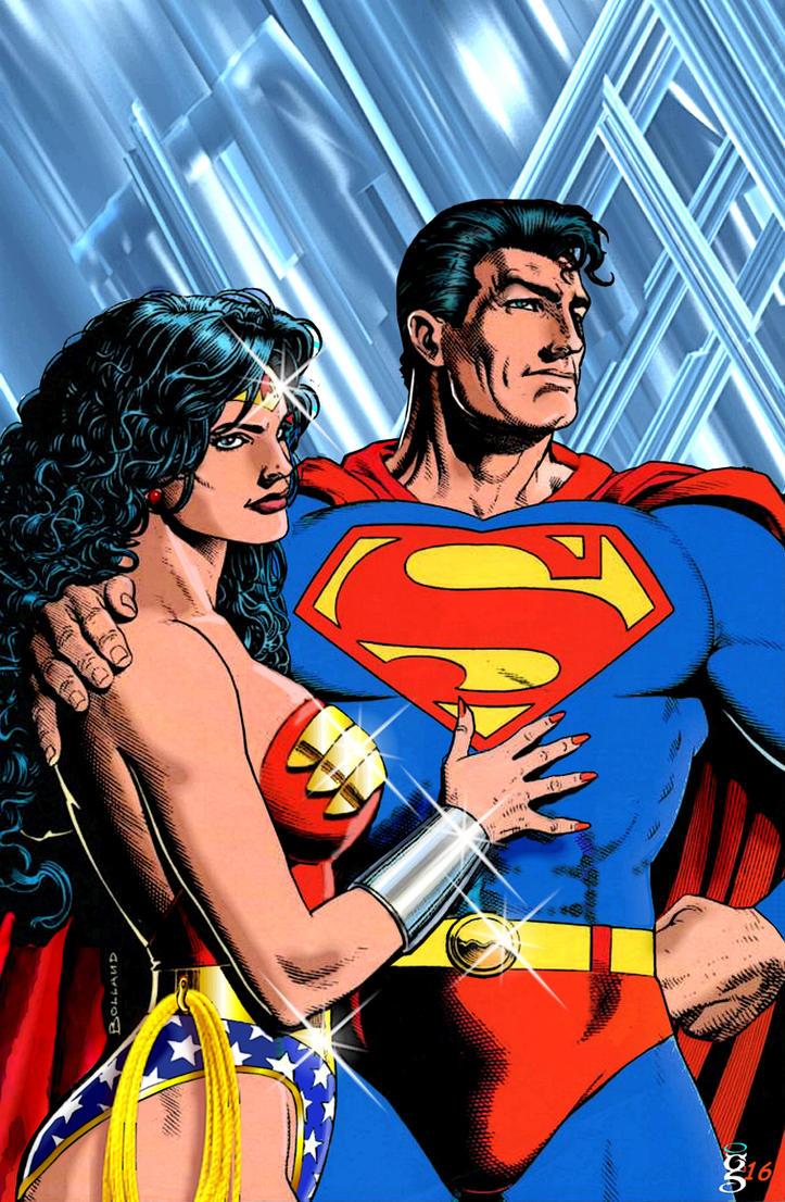 Superman dating wonder woman