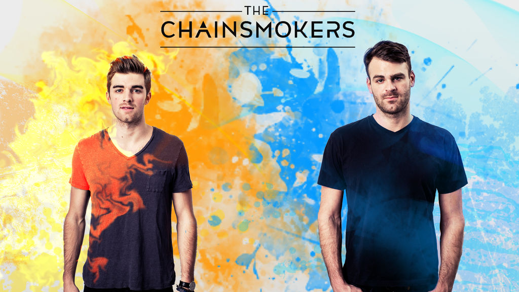 The Chainsmokers 4K Wallpaper by