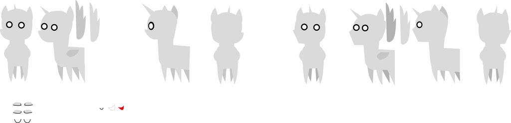 Pointed ponies