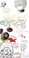 Persona 4 Doodles