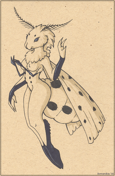 Lady Moth by Ilymandias
