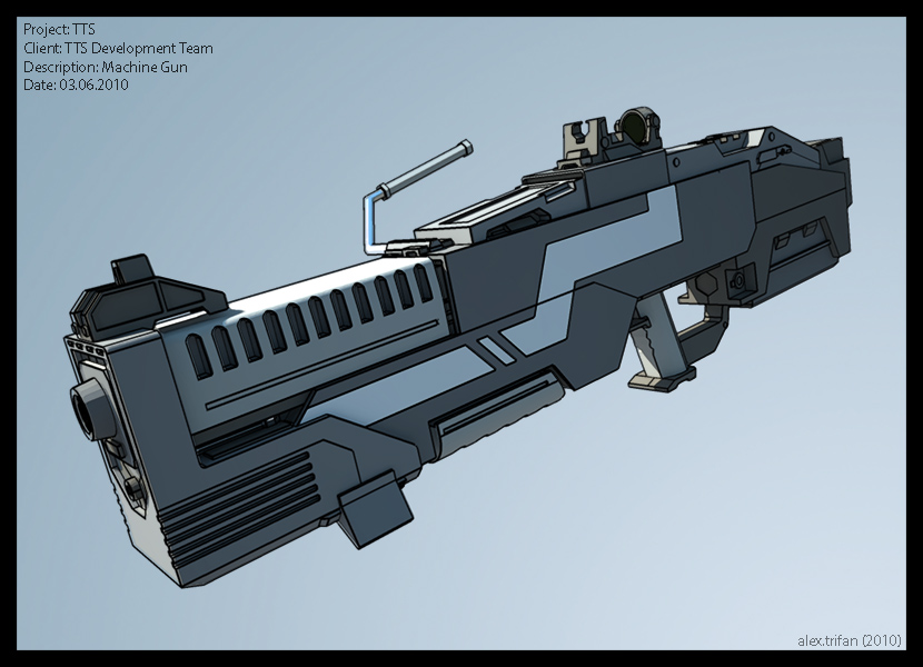 Machine Gun by PredatoryApe on DeviantArt