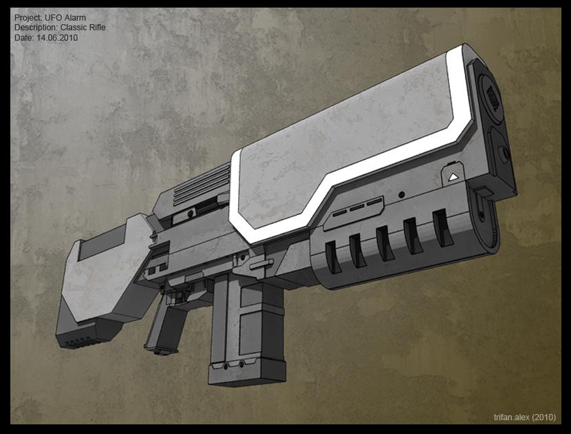 X-Com Classic Rifle by PredatoryApe
