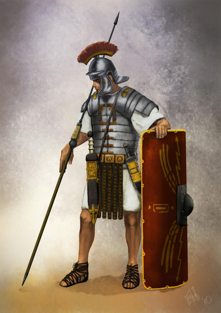 Roman Legionnaire by PredatoryApe