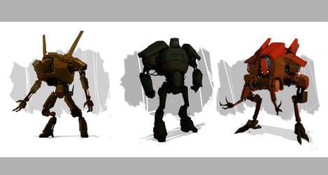 Rusty Robots by PredatoryApe