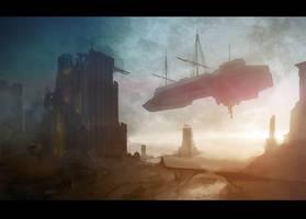 Ruined Harbor by PredatoryApe