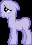 Base: Crying Pony by MaritziaFlare