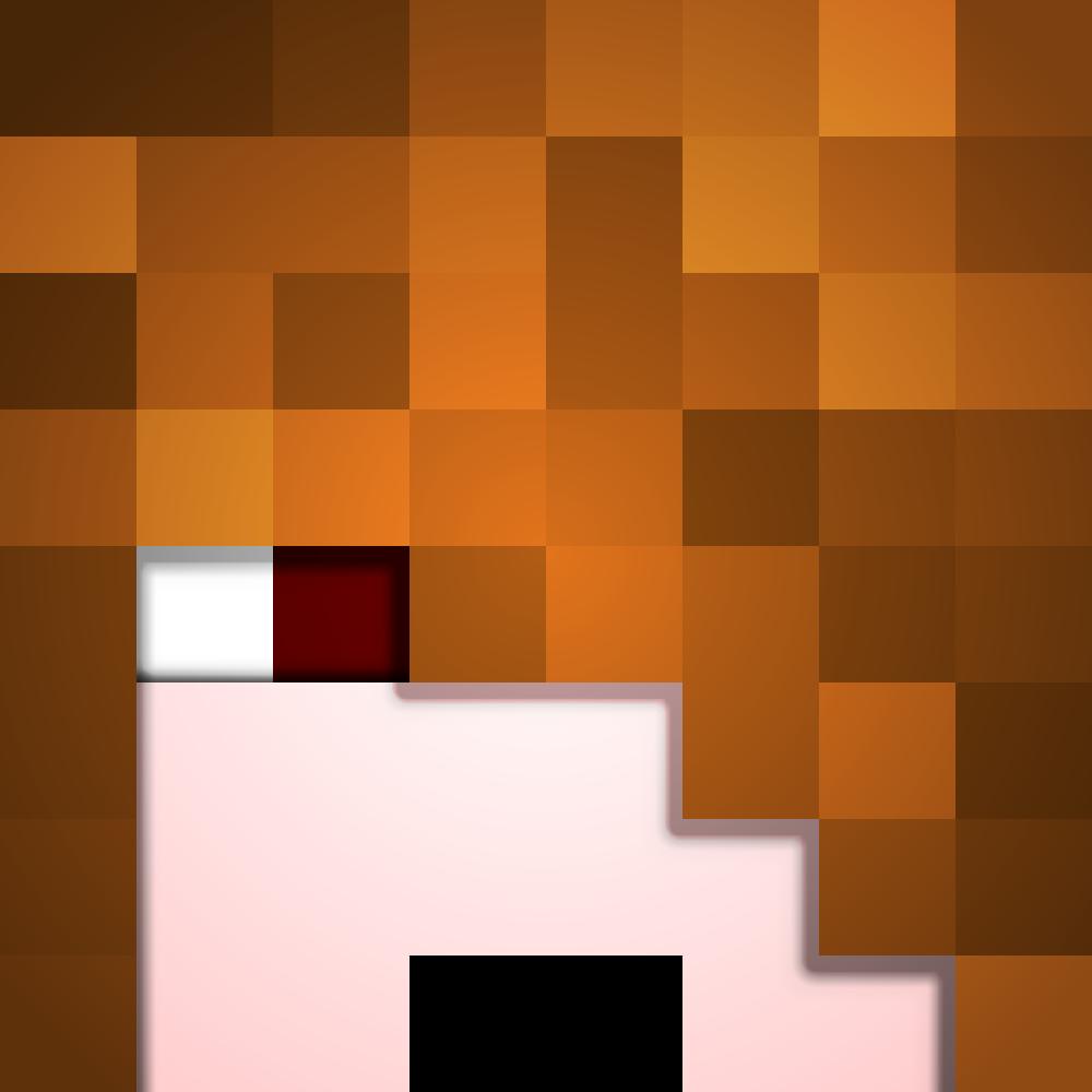 Deadlox Minecraft Skin Deadlox Face (3D Facew...