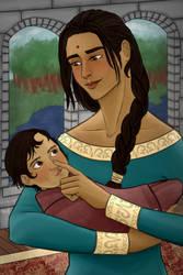 mama Nynaeve by karaburrito