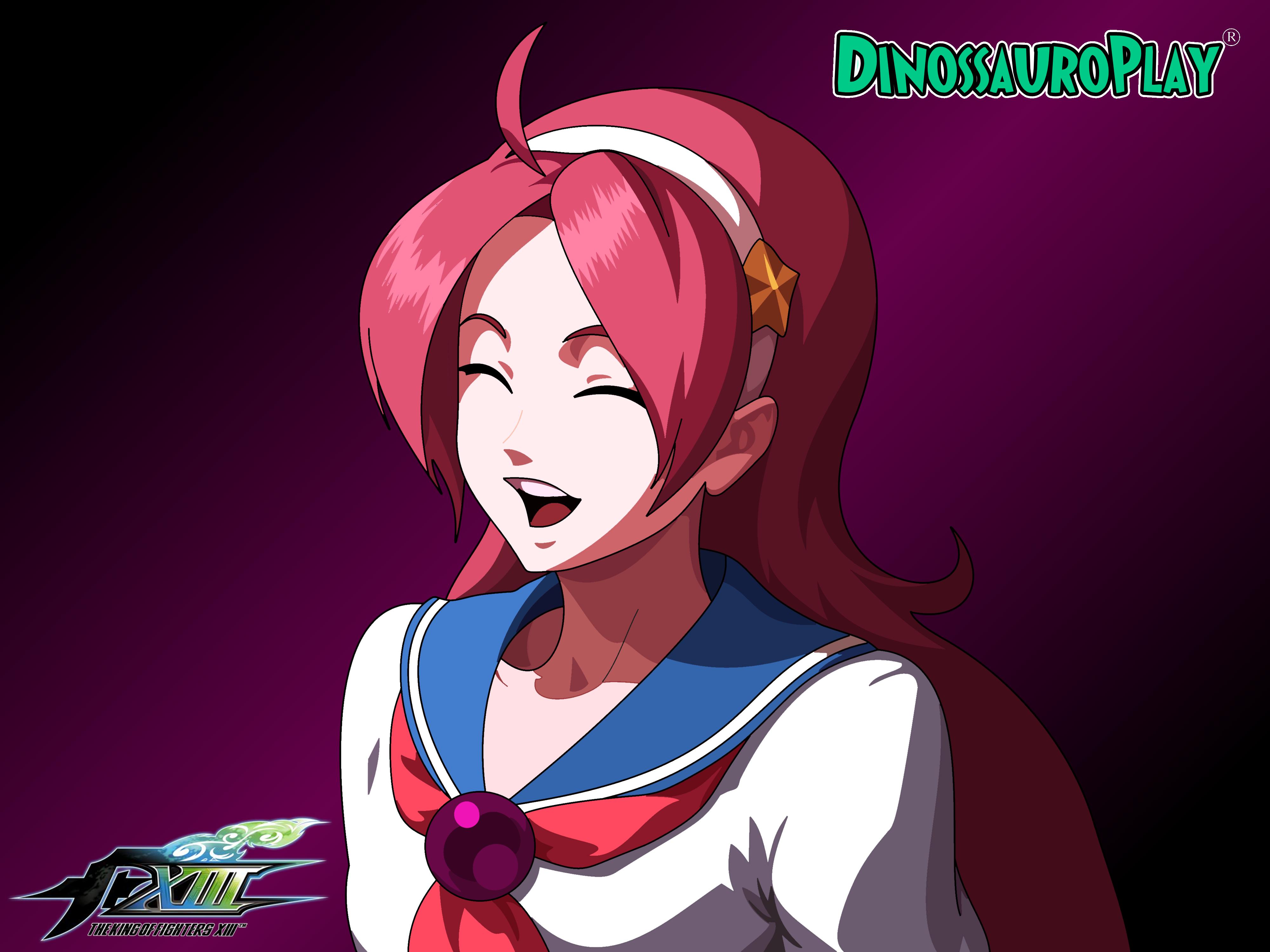 Athena Asamiya Kof Xiii By Dinossauroplay On Deviantart