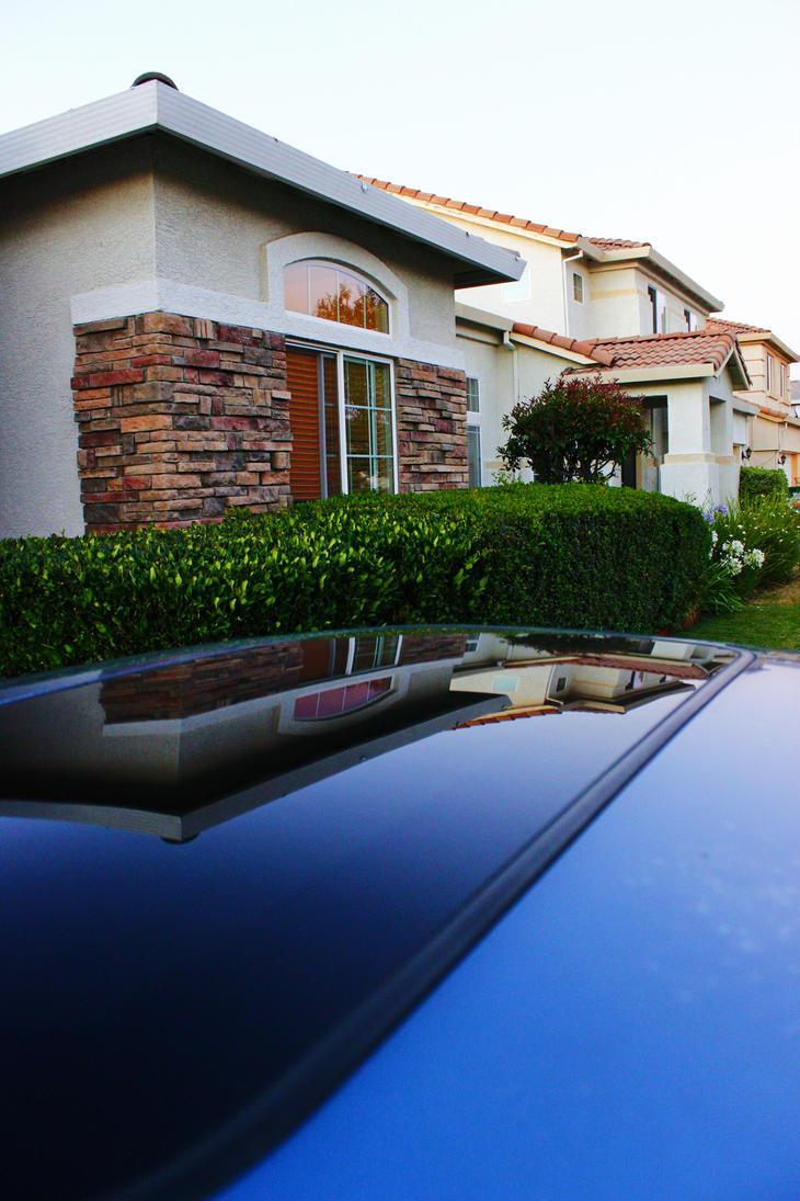 Stockton, California - Car/Abstract 3 by Ohgodgeese