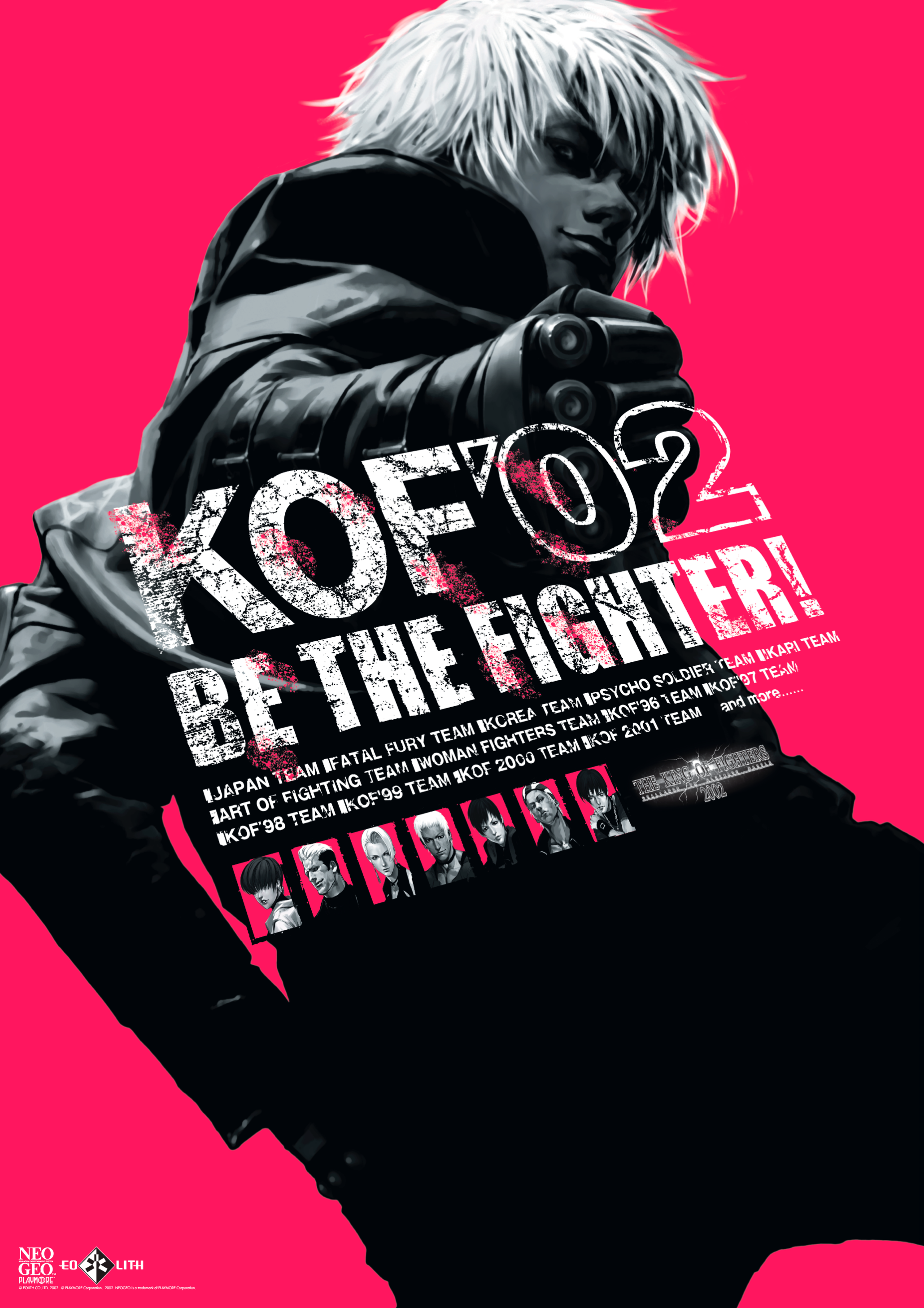 The King Of Fighters 2002 Original Cover By Kainrv1 On Deviantart