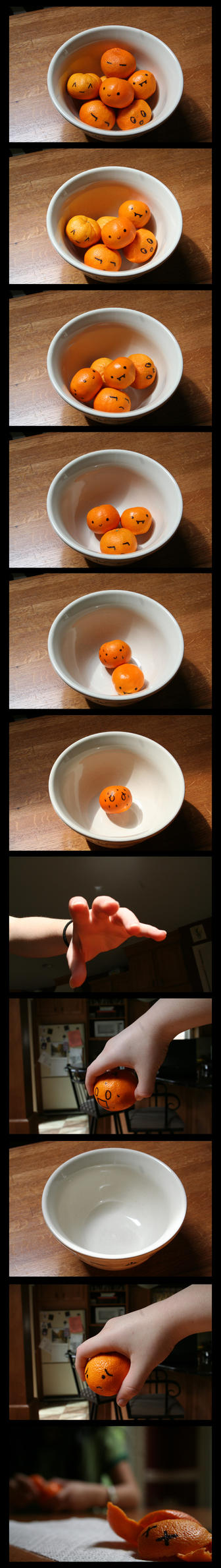 An Orange-y Demise by famel