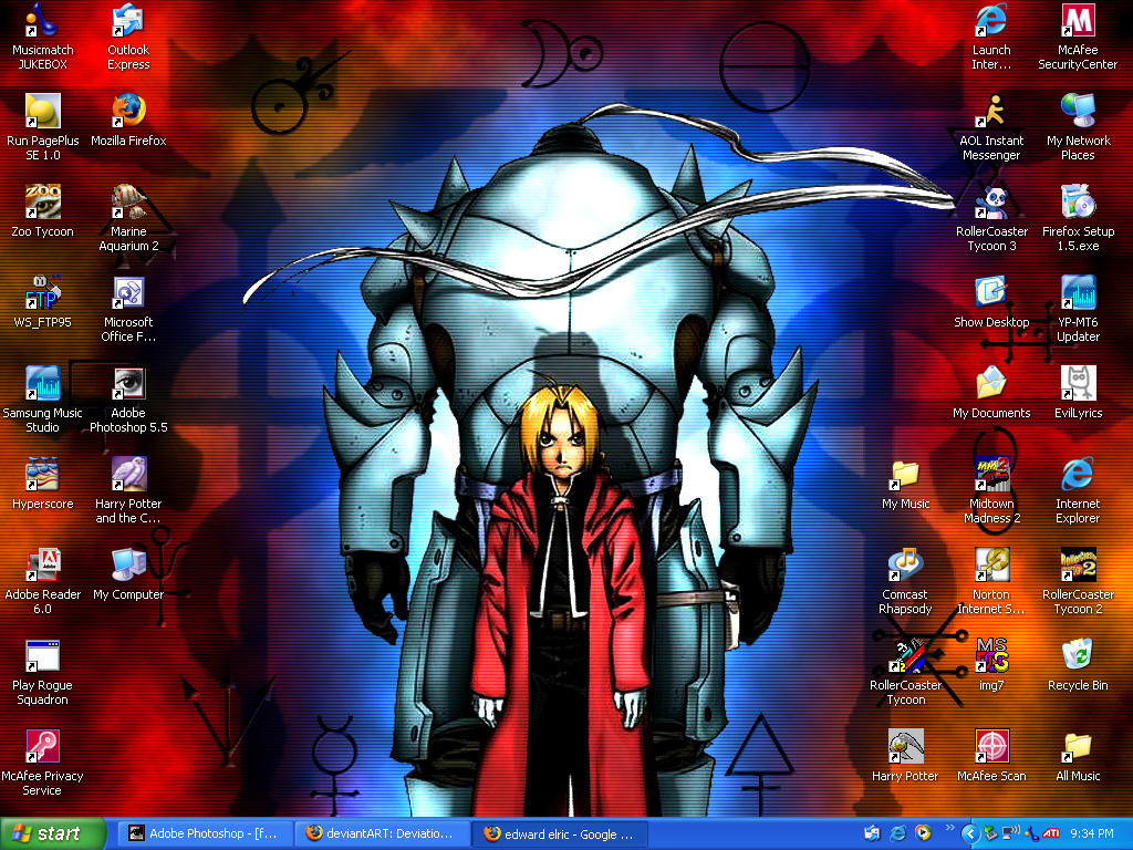 Random FMA Wallpaper by famel