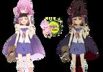 Yuki and Megu-nee