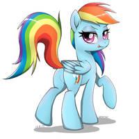 Rainbow Dash by YorozPony