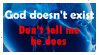 The atheist stamp