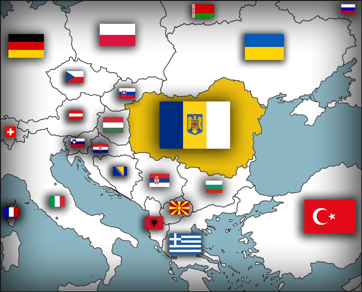 Empire Of Romania Updated By Dakyillustrations On Deviantart