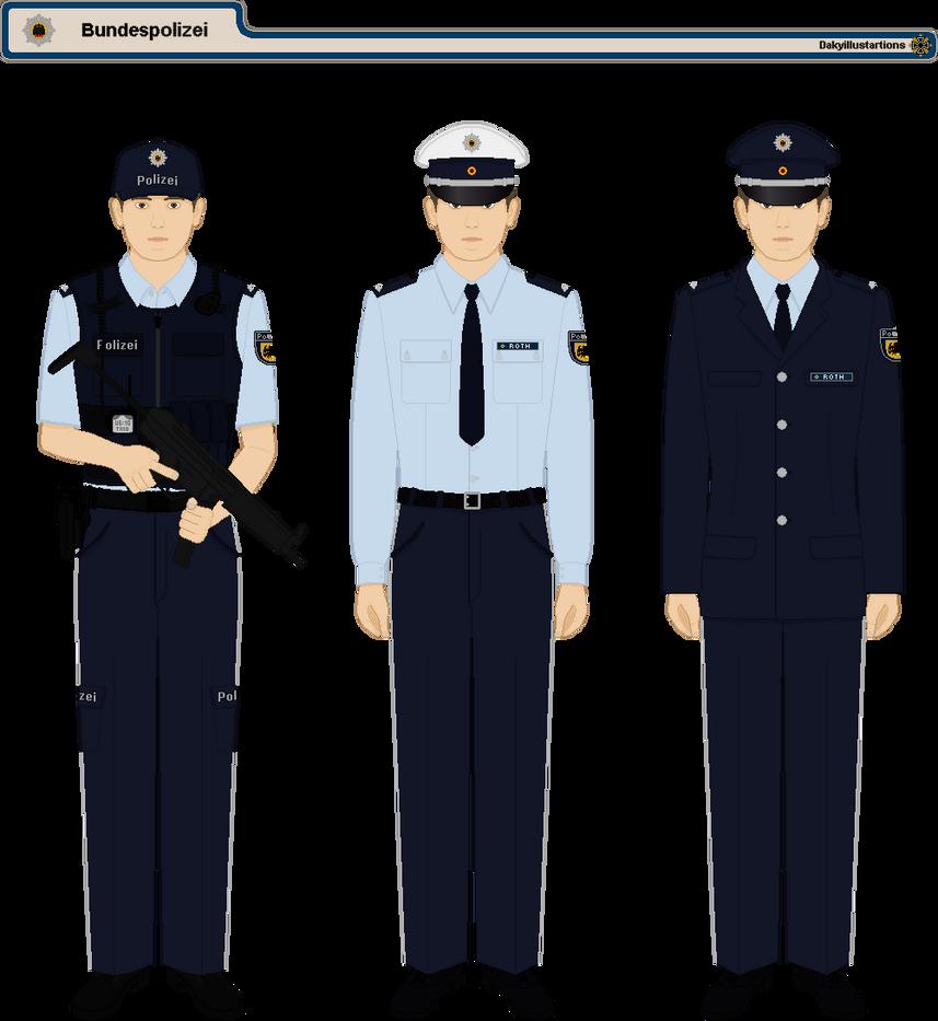 German Federal Police by DakyIllustrations