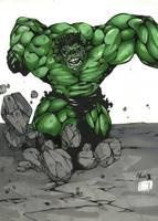 The Hulk by kabukiartist