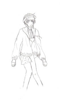 JBA: Narancia Sketch