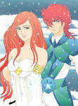Bryn and Alberick winter by ECVcm