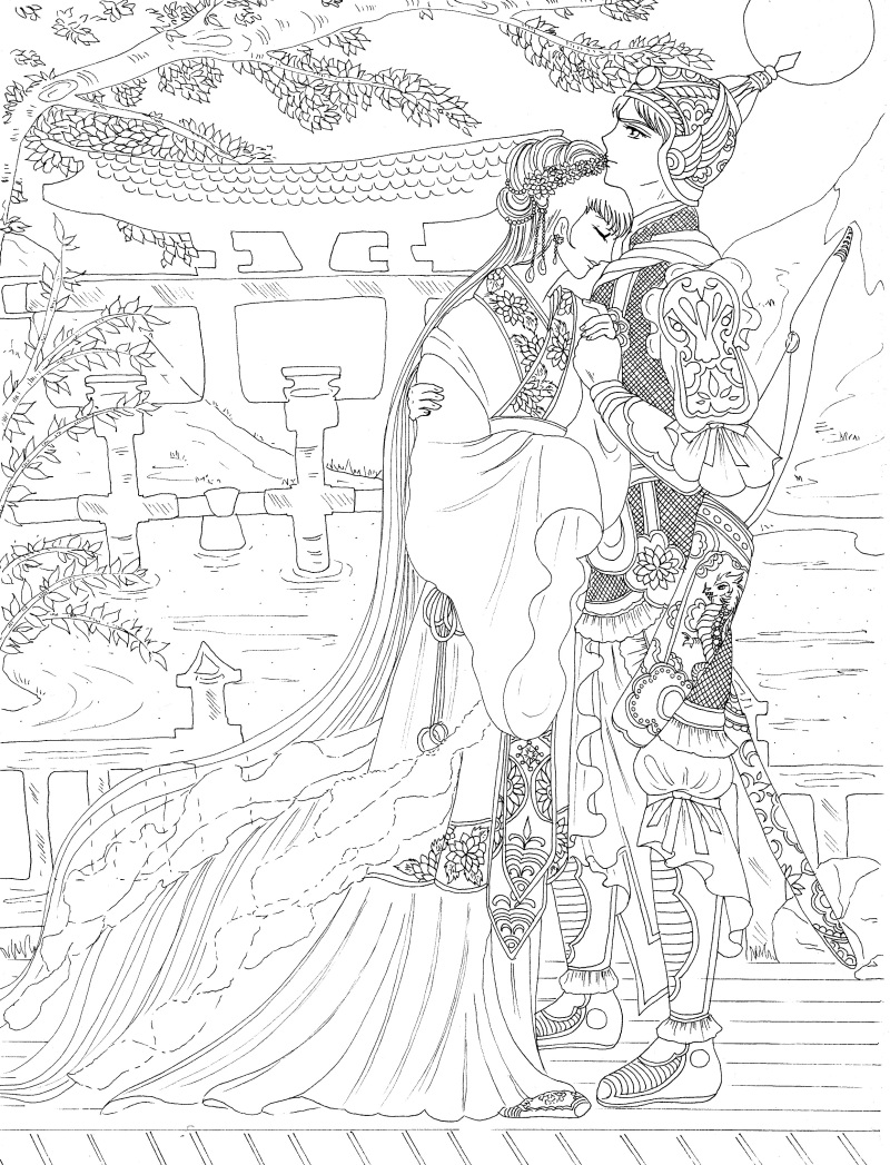 romantic coloring pages - photo #2