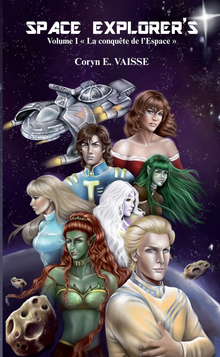 Novel Space Explorer by ECVcm