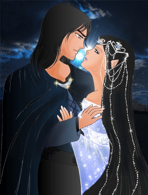 BEREN and LUTHIEN by ECVcm