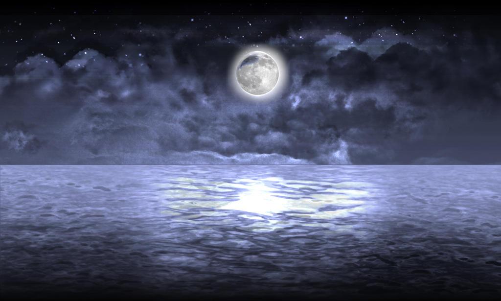 Night Moon by ECVcm
