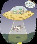 Cheese Spaceship