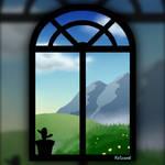 Window hill view
