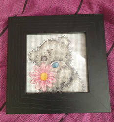 Cross Stitch bday gift