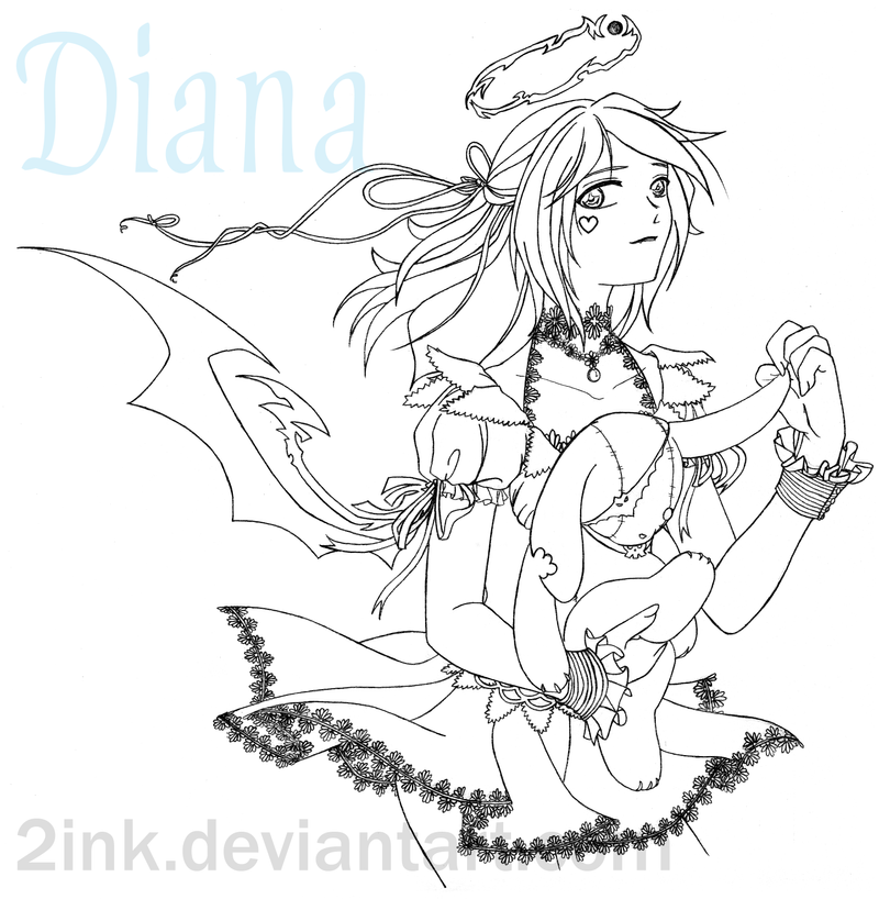BloodyBerry & SlackerLord Works Lunar_Diana_by_2inK