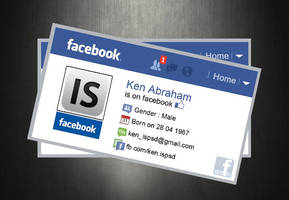 Facebook Card PSD Template by hdalive