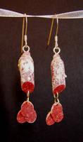 Salami Earrings