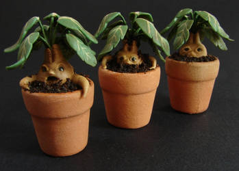 1:12 Miniature Mandrake Roots by NJD-Miniatures