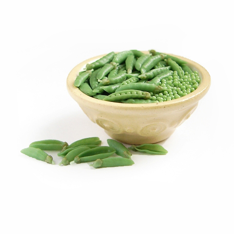 Shelling Peas 1:12 Scale Mini by NJD-Miniatures