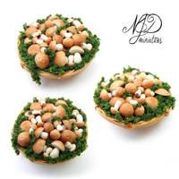 Porcini Basket - NJD Miniatures by NJD-Miniatures