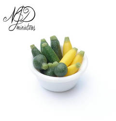 Courgettes - NJD Miniatures by NJD-Miniatures