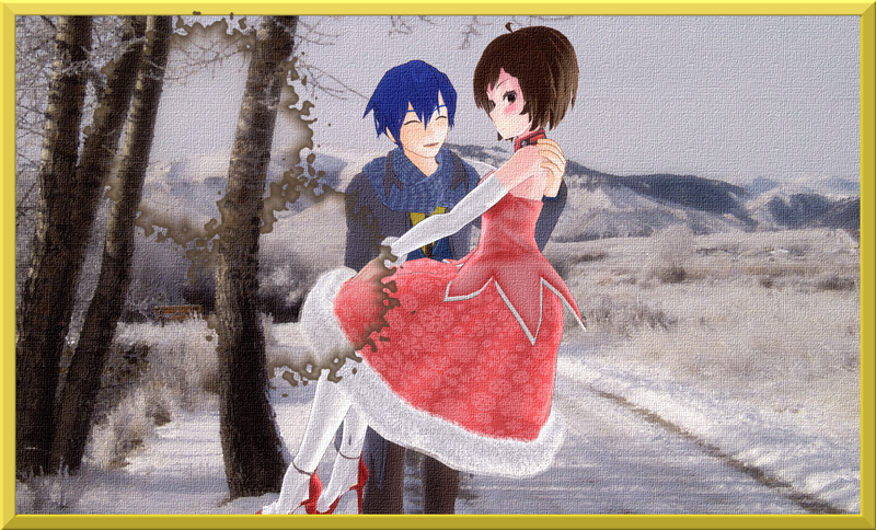 [Request] Love in Winter Painting by kokorohane