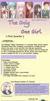 The Only One Girl { First Quarter } ver.1 RELEASED
