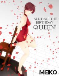 All Hail the Birthday Queen by Kokoro-Hane