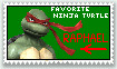 Raphael TMNT Stamp by dragontamer272